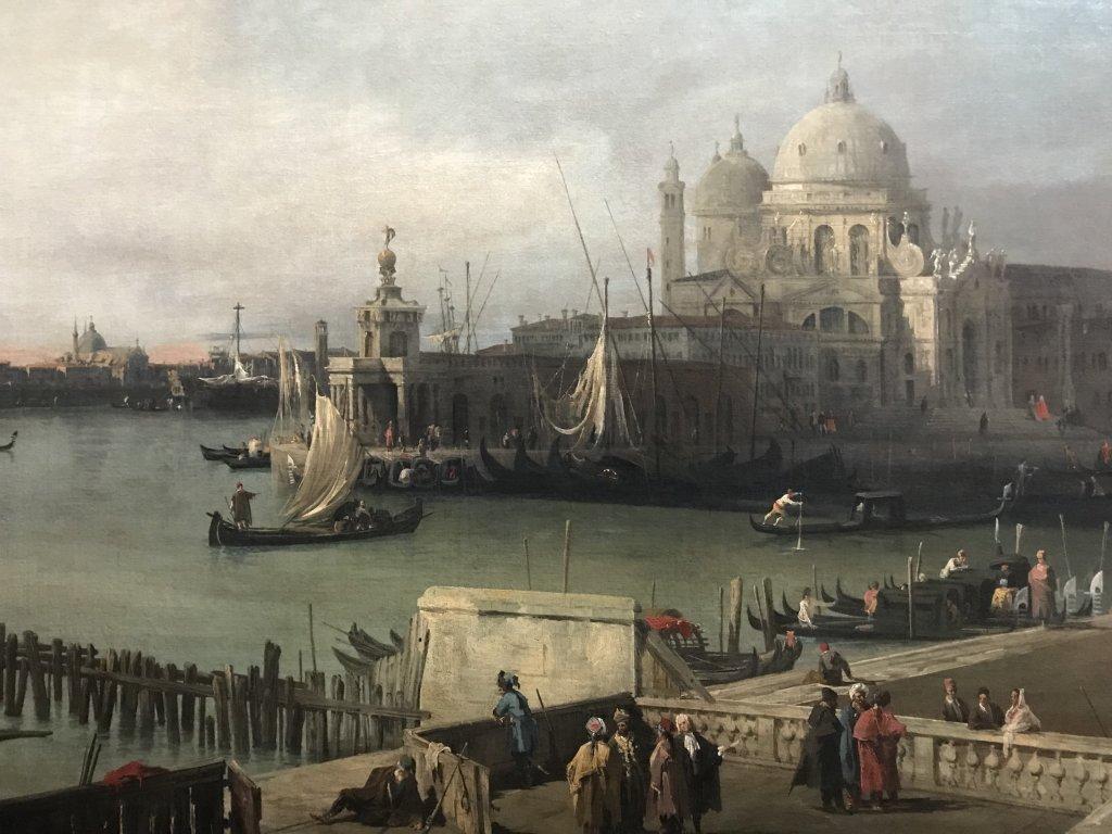 Vue de l'exposition Eblouissante Venise, les arts et l'Europe au XVIIIe siècle - Grand Palais (10)