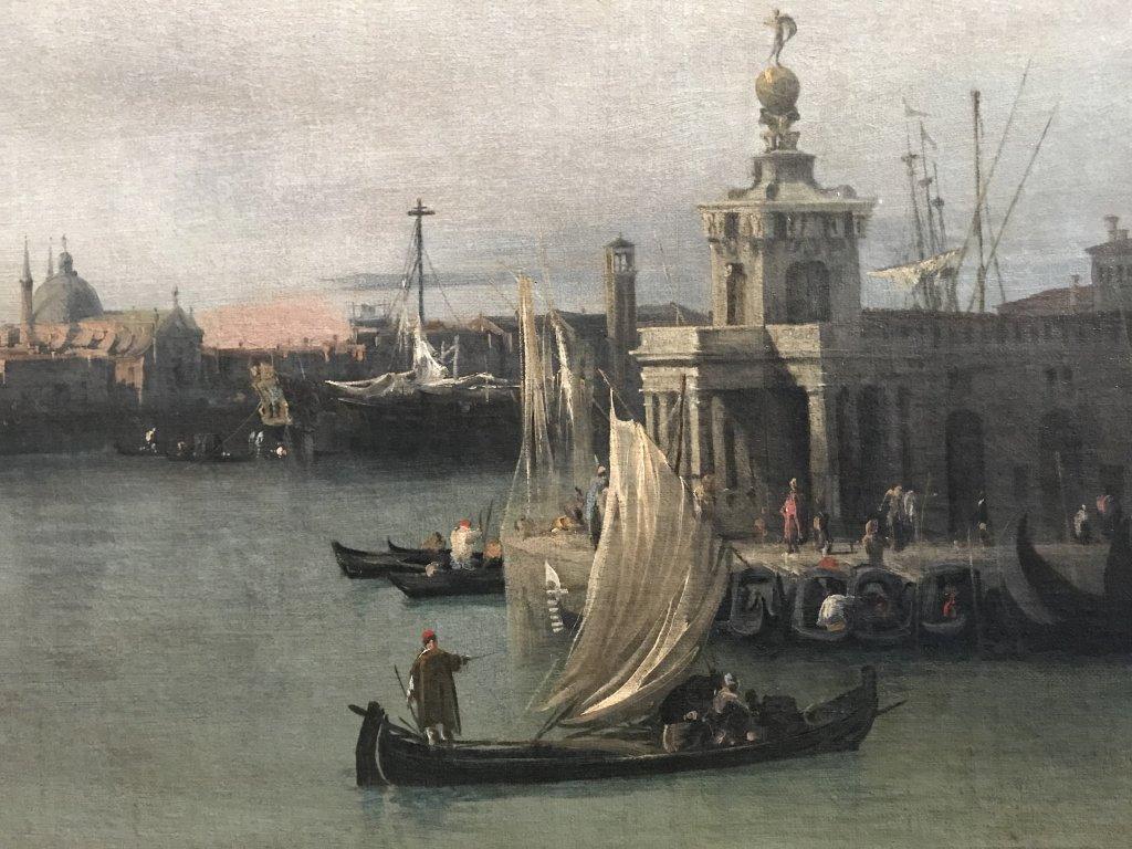 Vue de l'exposition Eblouissante Venise, les arts et l'Europe au XVIIIe siècle - Grand Palais (11)