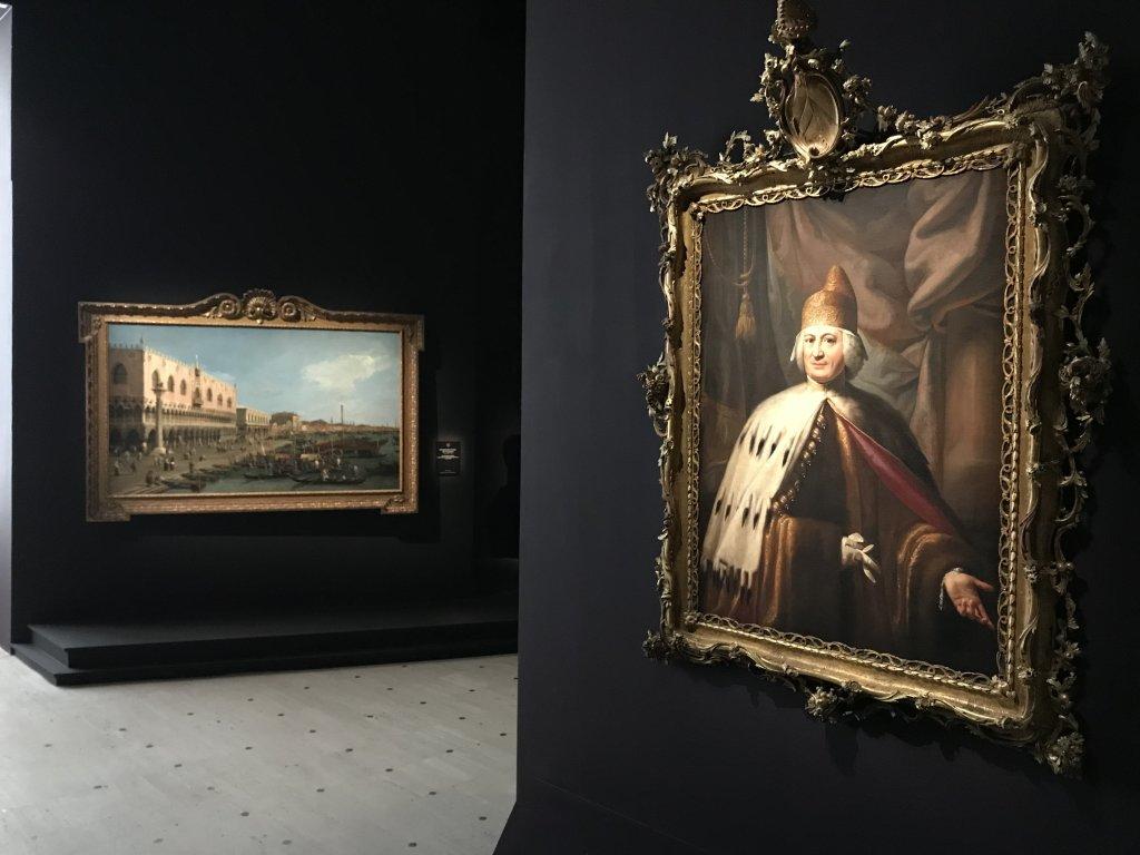Vue de l'exposition Eblouissante Venise, les arts et l'Europe au XVIIIe siècle - Grand Palais (12)
