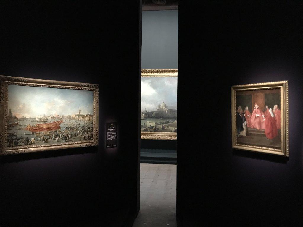 Vue de l'exposition Eblouissante Venise, les arts et l'Europe au XVIIIe siècle - Grand Palais (13)