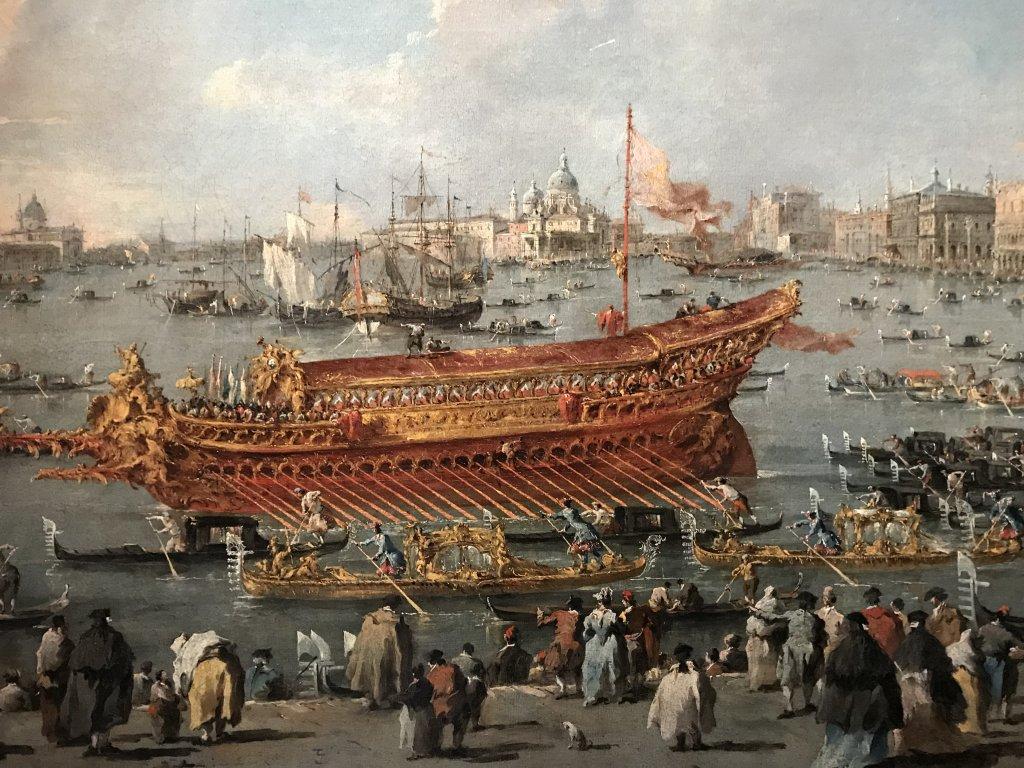 Vue de l'exposition Eblouissante Venise, les arts et l'Europe au XVIIIe siècle - Grand Palais (14)