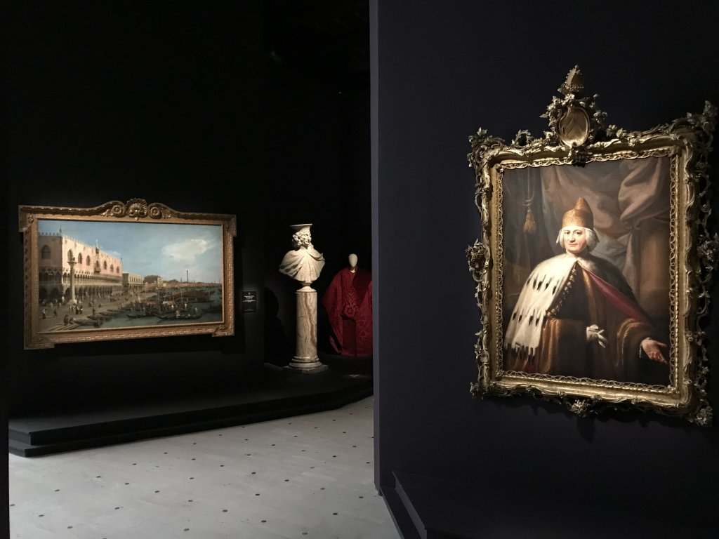 Vue de l'exposition Eblouissante Venise, les arts et l'Europe au XVIIIe siècle - Grand Palais (15)