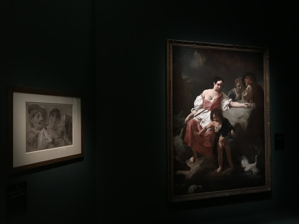 Vue de l'exposition Eblouissante Venise, les arts et l'Europe au XVIIIe siècle - Grand Palais (28)