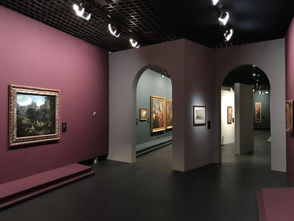 Vue de l'exposition Eblouissante Venise, les arts et l'Europe au XVIIIe siècle - Grand Palais (31)