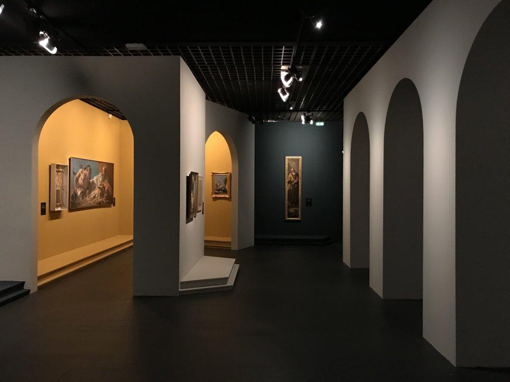 Vue de l'exposition Eblouissante Venise, les arts et l'Europe au XVIIIe siècle - Grand Palais (33)