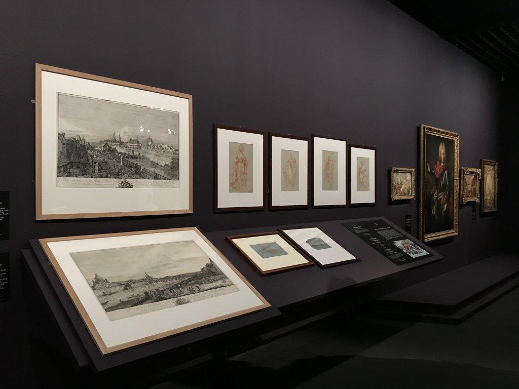 Vue de l'exposition Eblouissante Venise, les arts et l'Europe au XVIIIe siècle - Grand Palais (35)