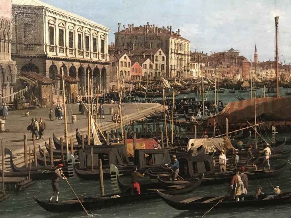 Vue de l'exposition Eblouissante Venise, les arts et l'Europe au XVIIIe siècle - Grand Palais (4)
