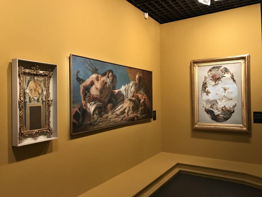 Vue de l'exposition Eblouissante Venise, les arts et l'Europe au XVIIIe siècle - Grand Palais (41)