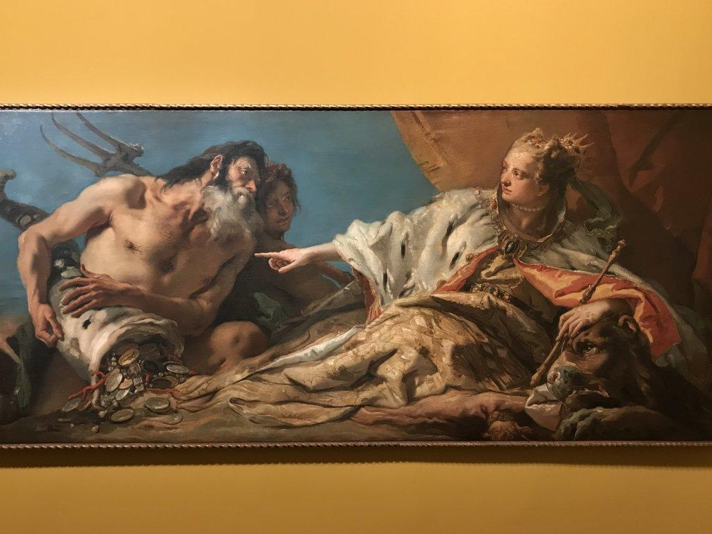 Vue de l'exposition Eblouissante Venise, les arts et l'Europe au XVIIIe siècle - Grand Palais (42)