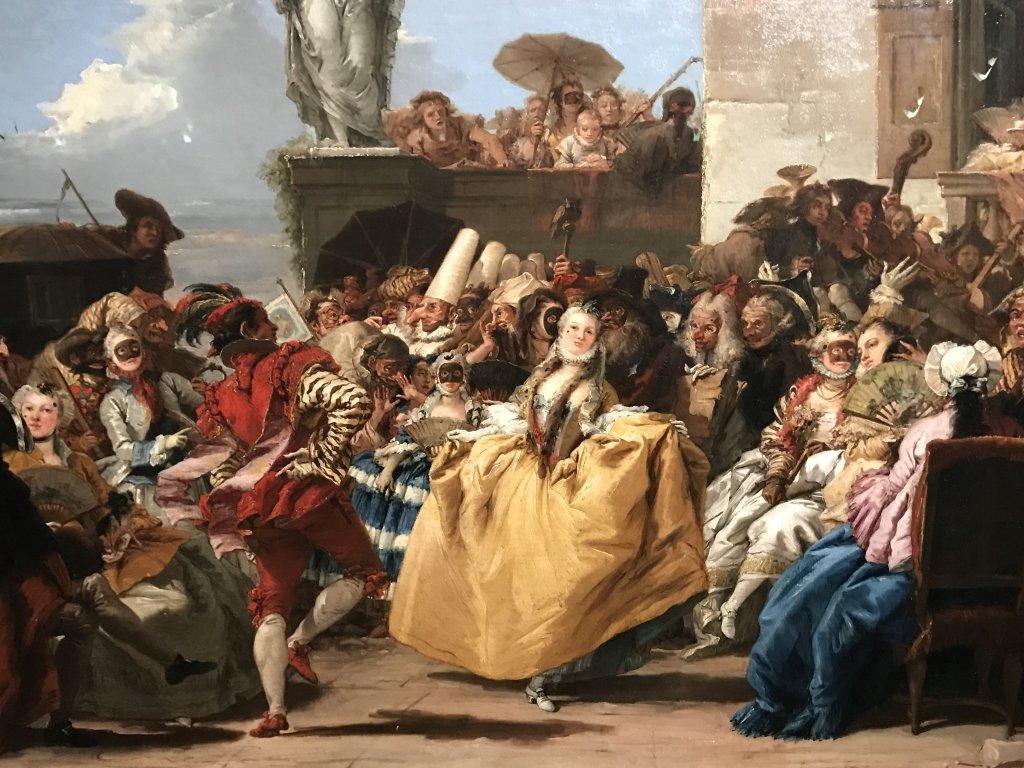 Vue de l'exposition Eblouissante Venise, les arts et l'Europe au XVIIIe siècle - Grand Palais (48)