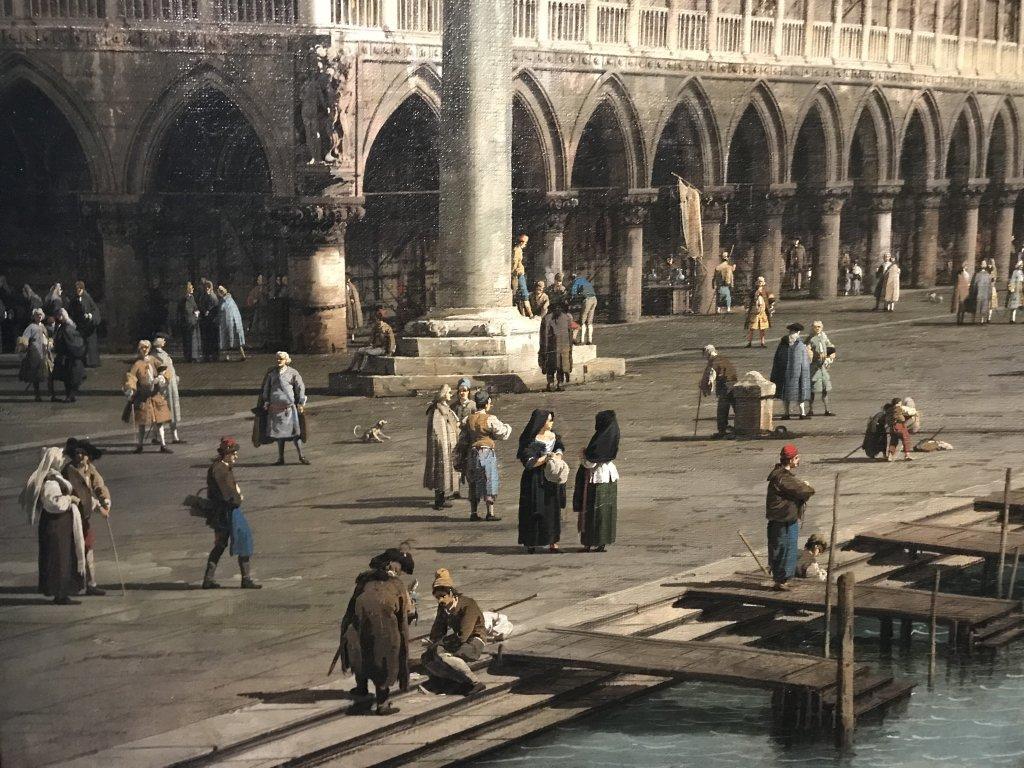 Vue de l'exposition Eblouissante Venise, les arts et l'Europe au XVIIIe siècle - Grand Palais (5)