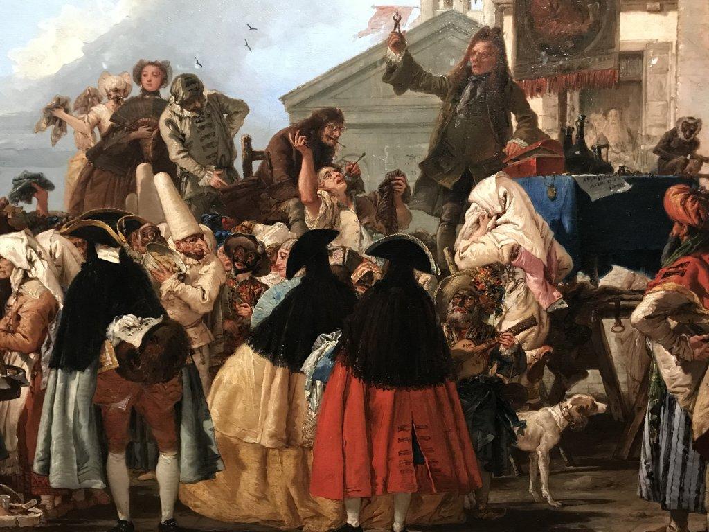 Vue de l'exposition Eblouissante Venise, les arts et l'Europe au XVIIIe siècle - Grand Palais (50)