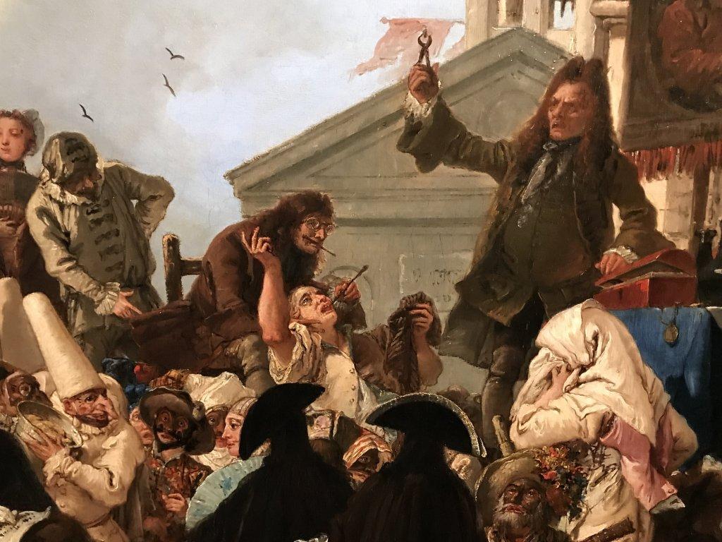 Vue de l'exposition Eblouissante Venise, les arts et l'Europe au XVIIIe siècle - Grand Palais (51)