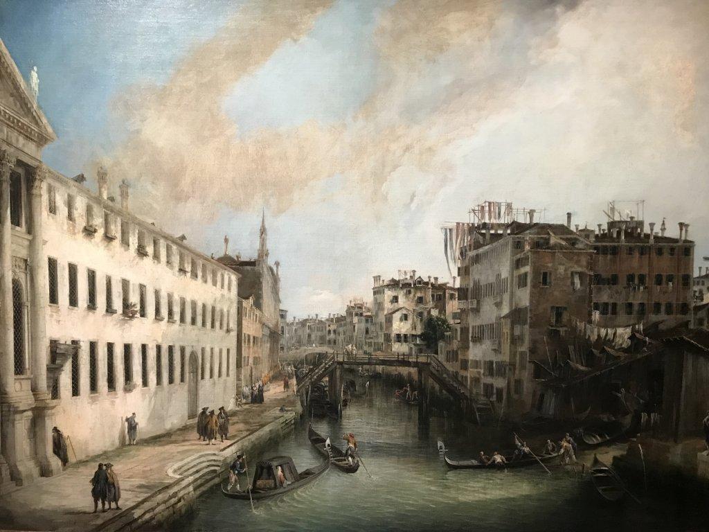 Vue de l'exposition Eblouissante Venise, les arts et l'Europe au XVIIIe siècle - Grand Palais (7)