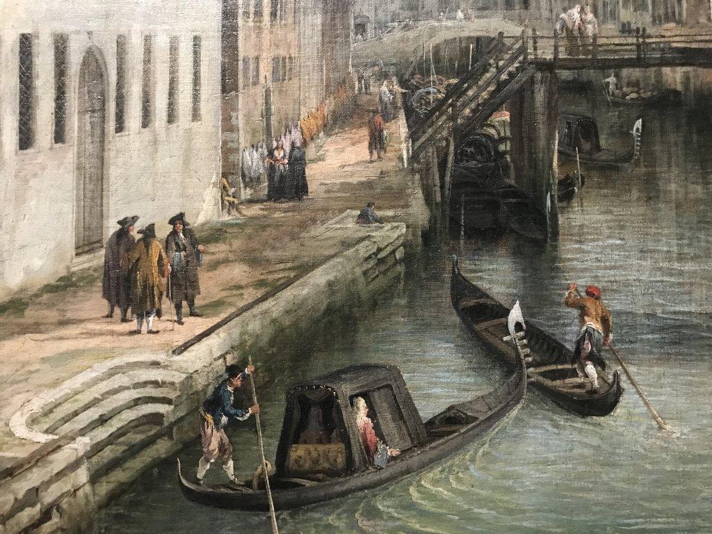 Vue de l'exposition Eblouissante Venise, les arts et l'Europe au XVIIIe siècle - Grand Palais (8)