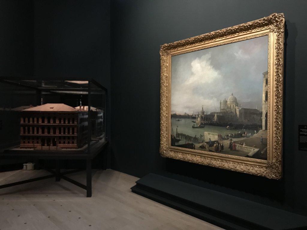 Vue de l'exposition Eblouissante Venise, les arts et l'Europe au XVIIIe siècle - Grand Palais (9)