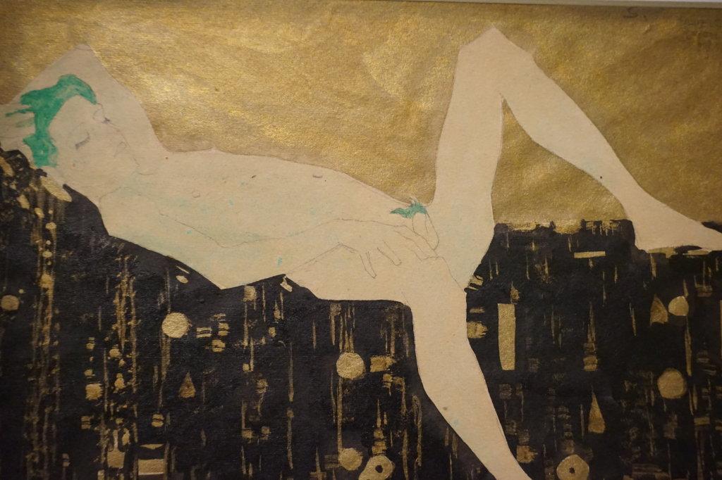 Vue de l'exposition Egon Schiele - Fondation Louis Vuitton (10)