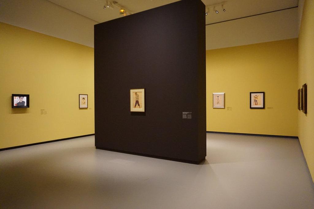 Vue de l'exposition Egon Schiele - Fondation Louis Vuitton (13)