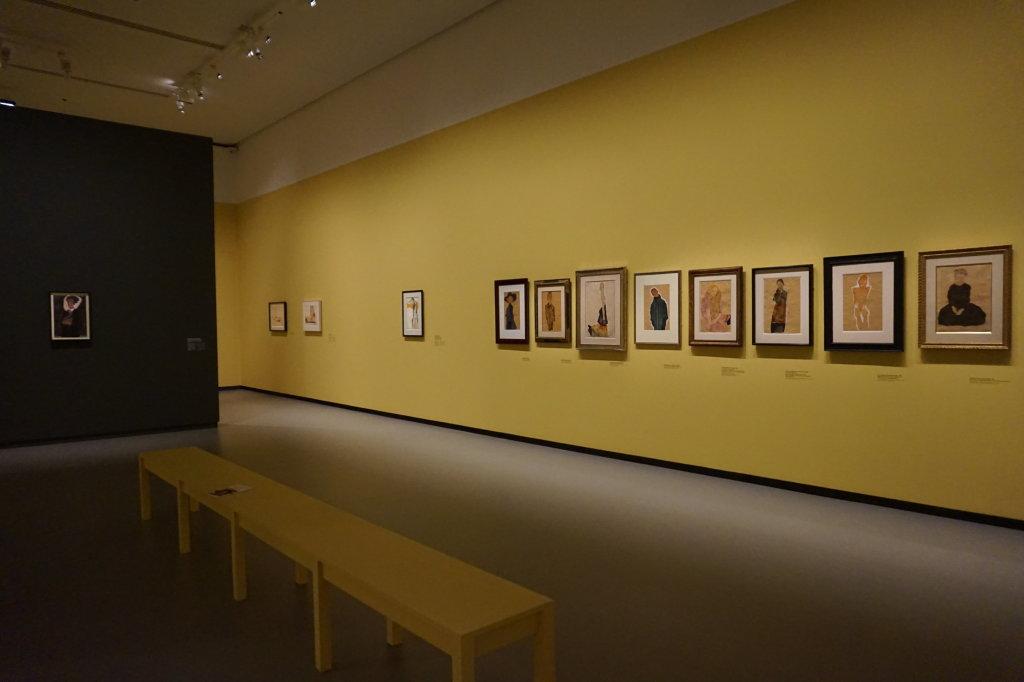 Vue de l'exposition Egon Schiele - Fondation Louis Vuitton (14)