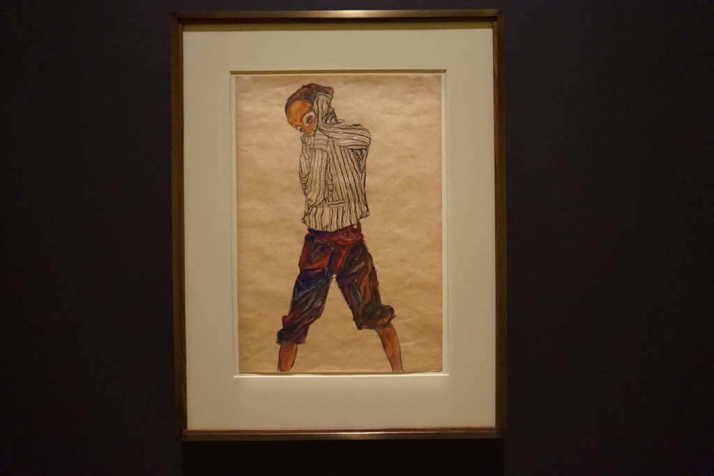 Vue de l'exposition Egon Schiele - Fondation Louis Vuitton (15)