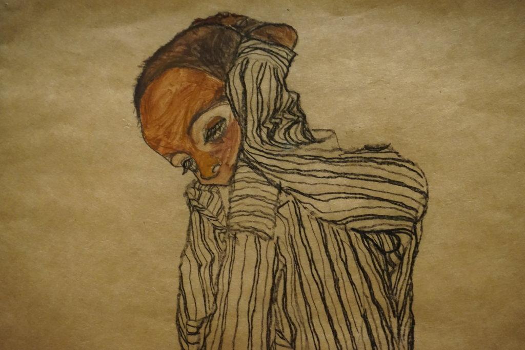 Vue de l'exposition Egon Schiele - Fondation Louis Vuitton (16)