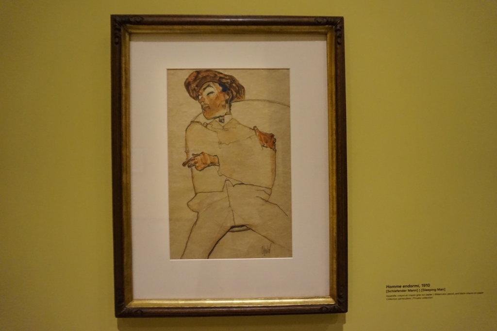 Vue de l'exposition Egon Schiele - Fondation Louis Vuitton (17)