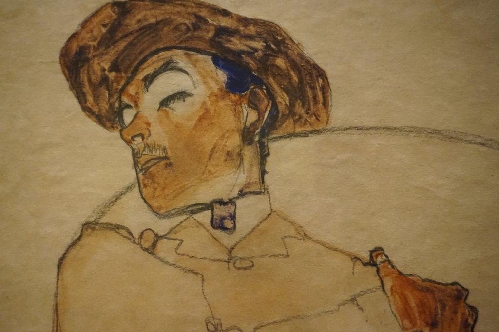 Vue de l'exposition Egon Schiele - Fondation Louis Vuitton (18)