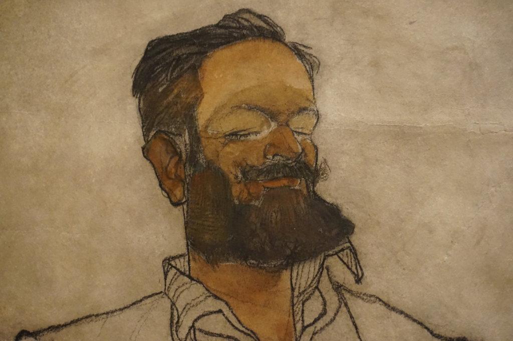 Vue de l'exposition Egon Schiele - Fondation Louis Vuitton (19)