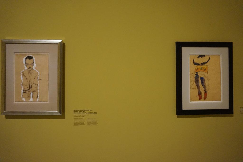 Vue de l'exposition Egon Schiele - Fondation Louis Vuitton (20)