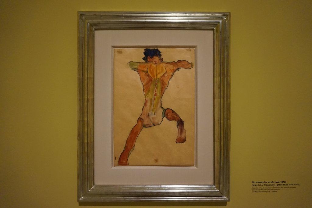 Vue de l'exposition Egon Schiele - Fondation Louis Vuitton (22)