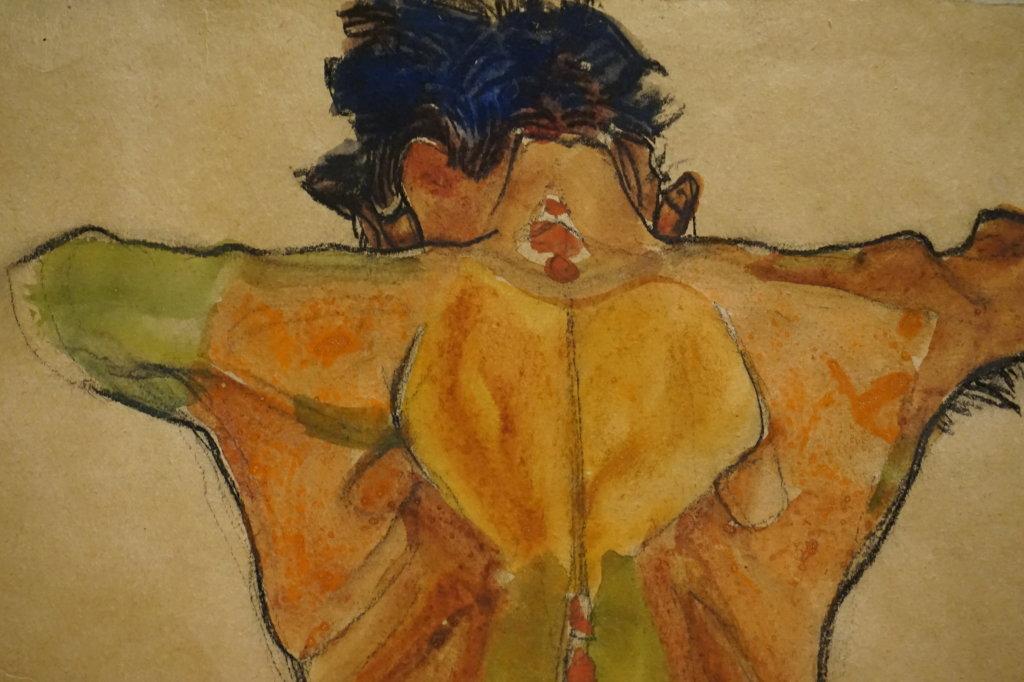Vue de l'exposition Egon Schiele - Fondation Louis Vuitton (23)