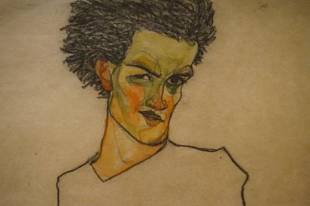 Vue de l'exposition Egon Schiele - Fondation Louis Vuitton (24)
