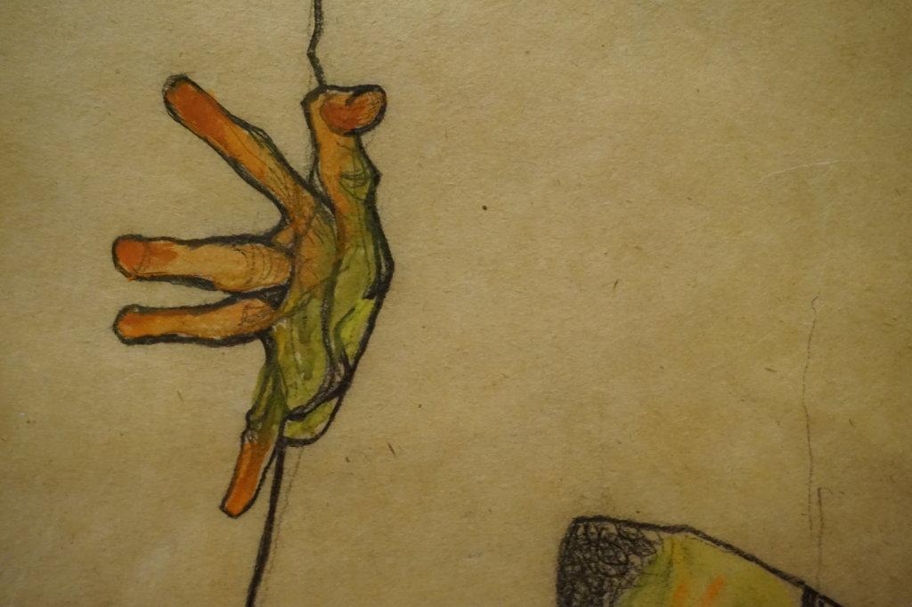 Vue de l'exposition Egon Schiele - Fondation Louis Vuitton (25)