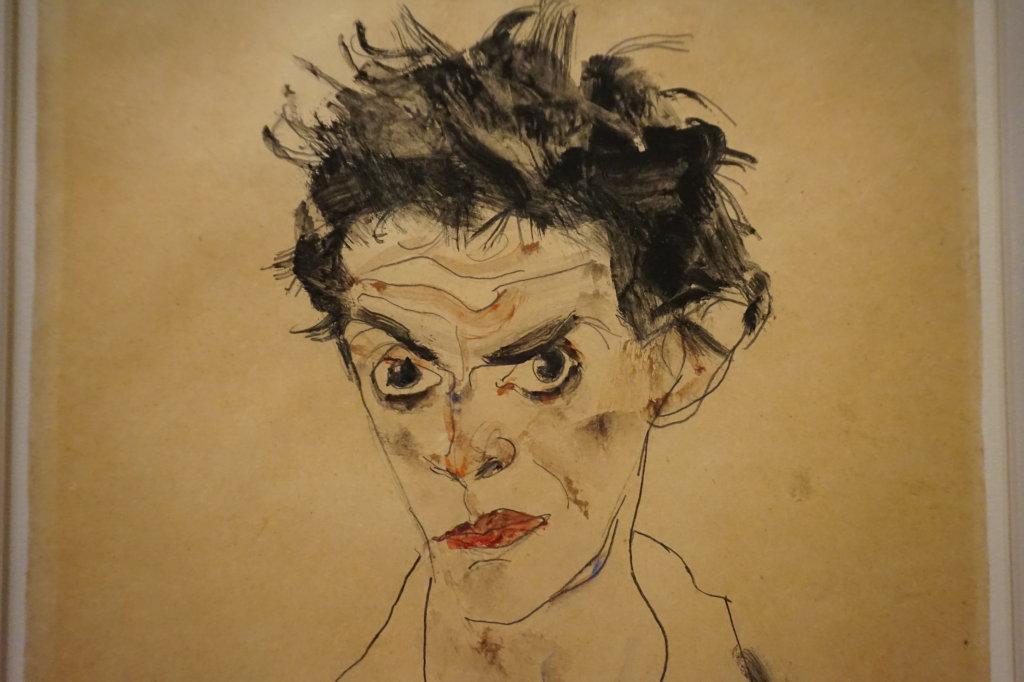Vue de l'exposition Egon Schiele - Fondation Louis Vuitton (26)