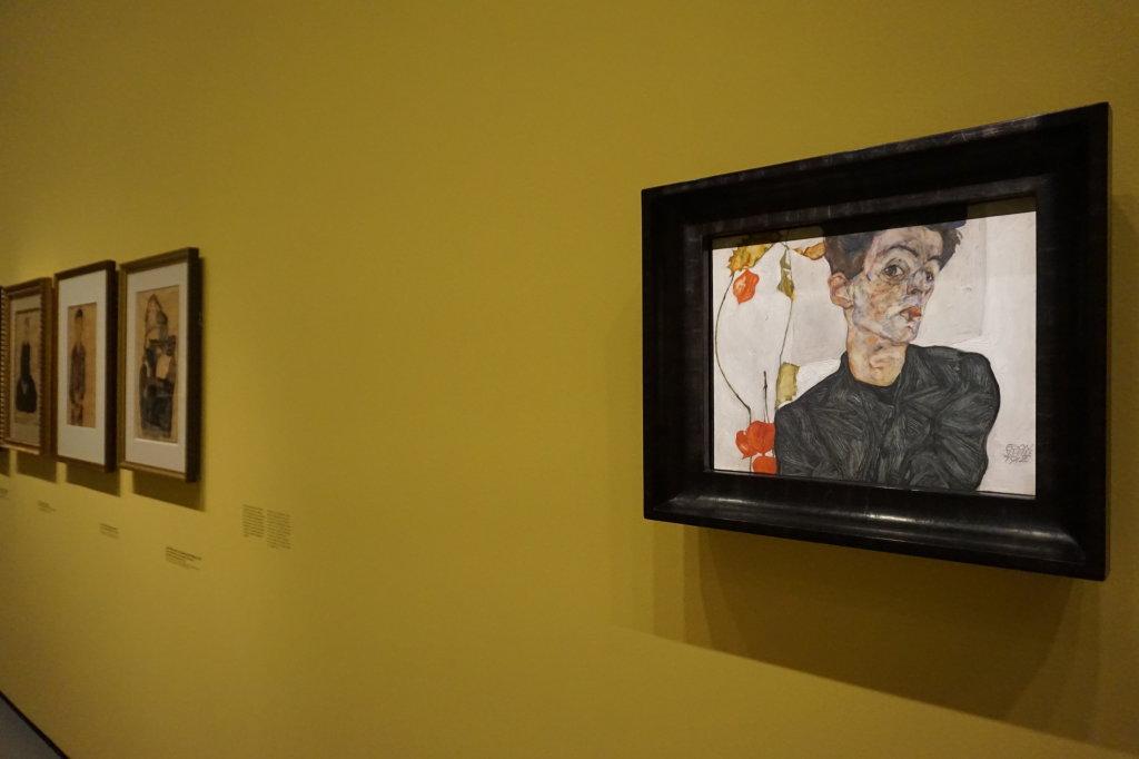 Vue de l'exposition Egon Schiele - Fondation Louis Vuitton (27)
