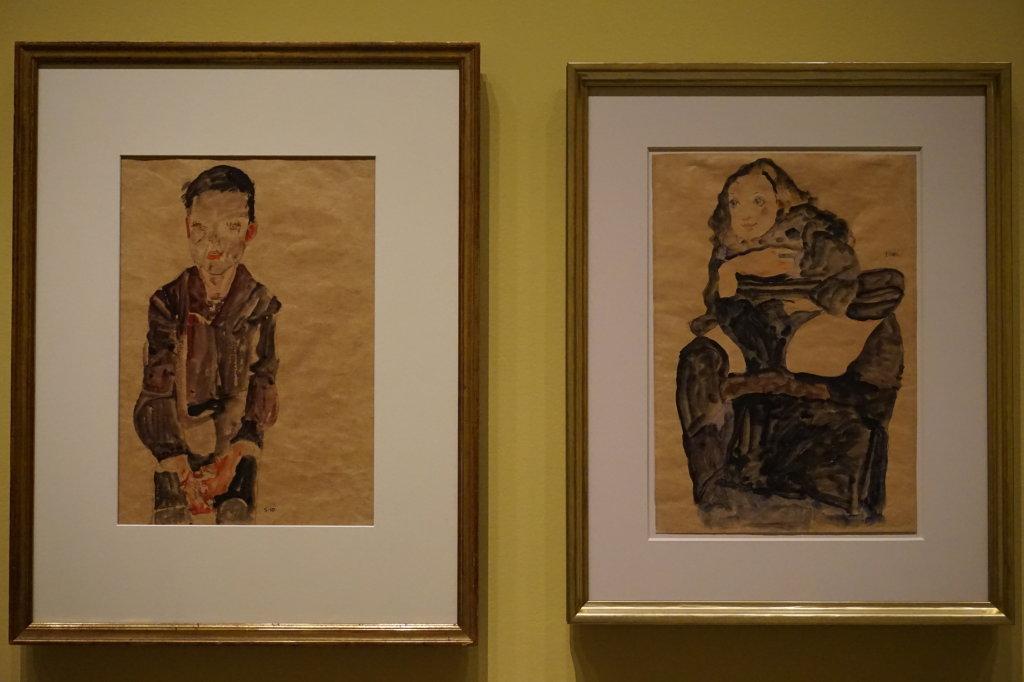 Vue de l'exposition Egon Schiele - Fondation Louis Vuitton (29)