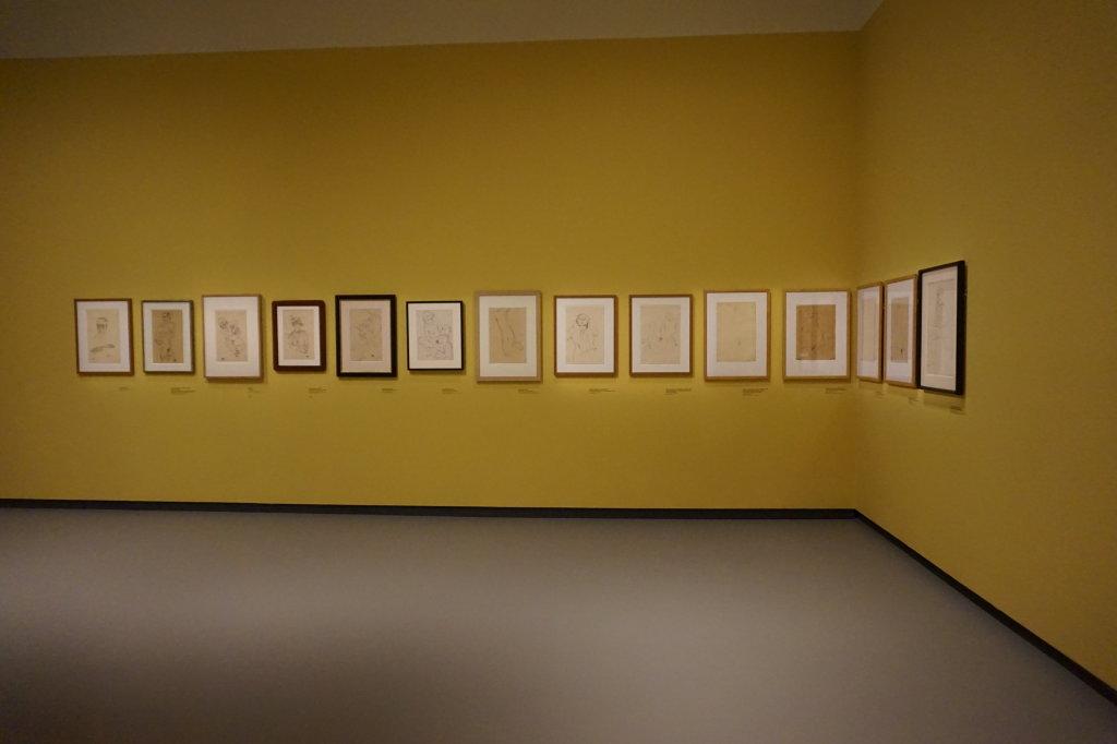 Vue de l'exposition Egon Schiele - Fondation Louis Vuitton (3)