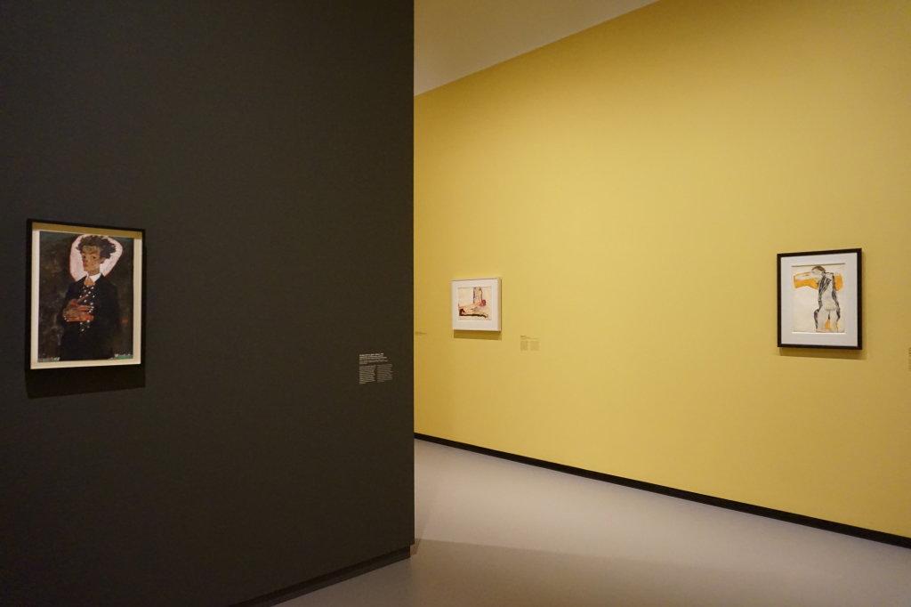 Vue de l'exposition Egon Schiele - Fondation Louis Vuitton (30)