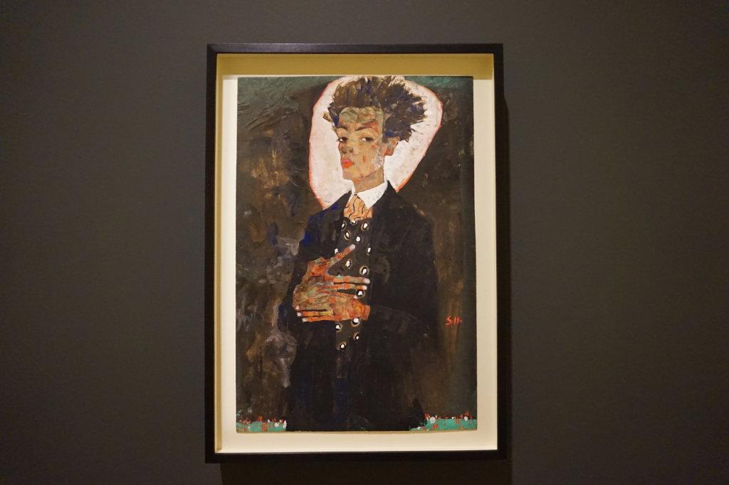 Vue de l'exposition Egon Schiele - Fondation Louis Vuitton (31)