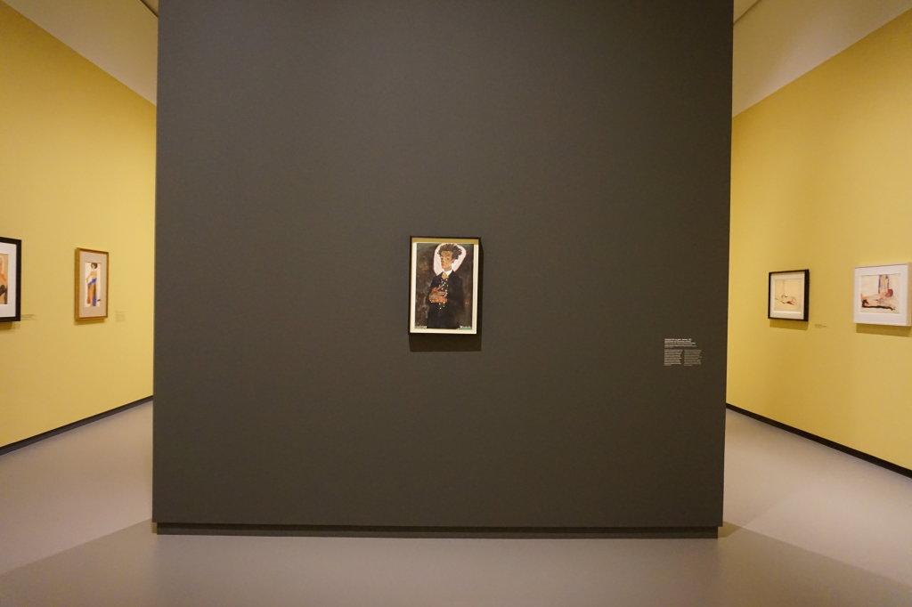 Vue de l'exposition Egon Schiele - Fondation Louis Vuitton (32)