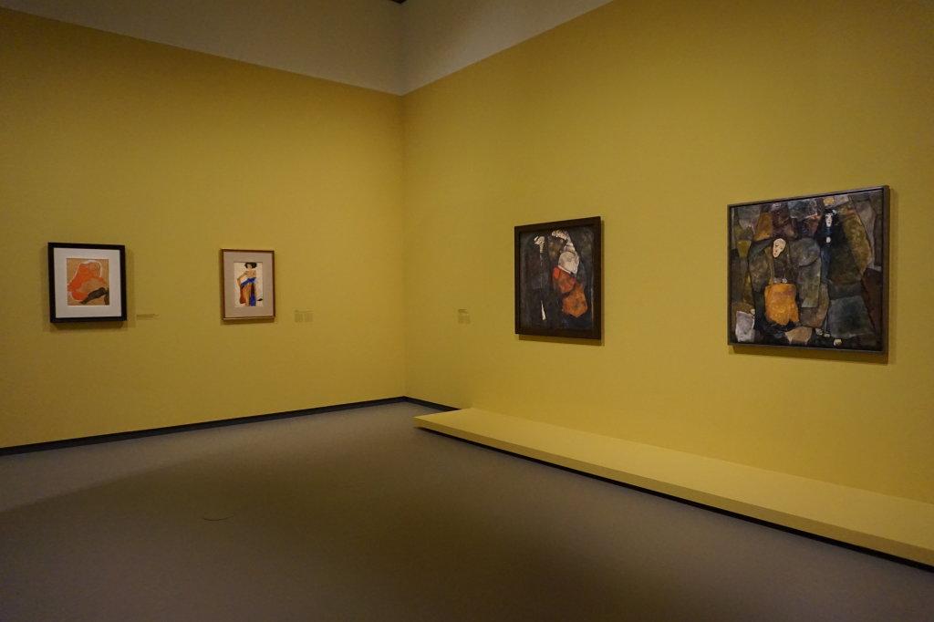 Vue de l'exposition Egon Schiele - Fondation Louis Vuitton (33)