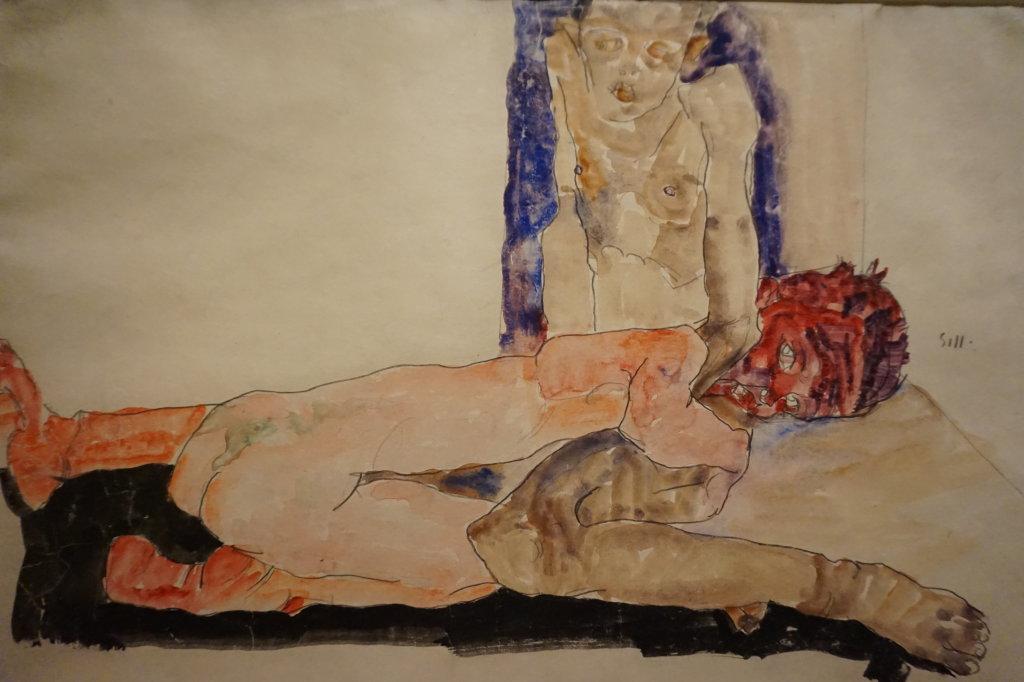 Vue de l'exposition Egon Schiele - Fondation Louis Vuitton (36)