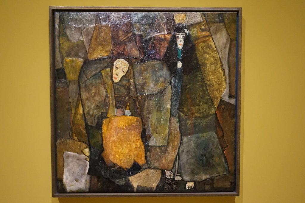 Vue de l'exposition Egon Schiele - Fondation Louis Vuitton (37)