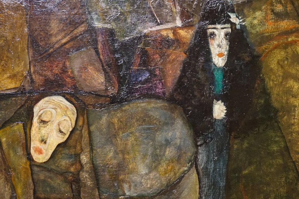 Vue de l'exposition Egon Schiele - Fondation Louis Vuitton (38)