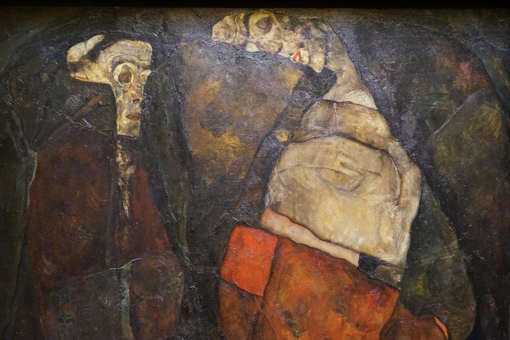 Vue de l'exposition Egon Schiele - Fondation Louis Vuitton (39)