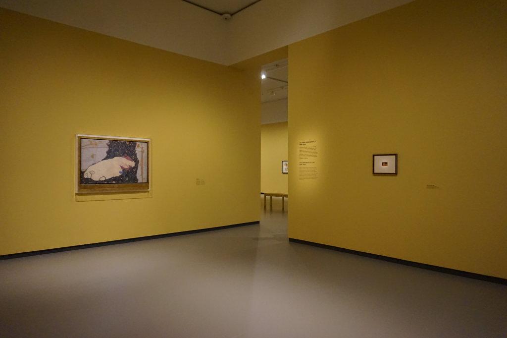 Vue de l'exposition Egon Schiele - Fondation Louis Vuitton (4)