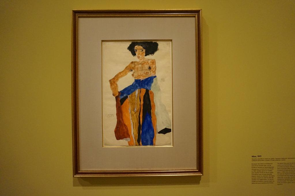 Vue de l'exposition Egon Schiele - Fondation Louis Vuitton (40)