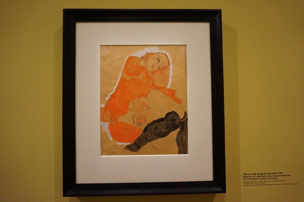 Vue de l'exposition Egon Schiele - Fondation Louis Vuitton (42)