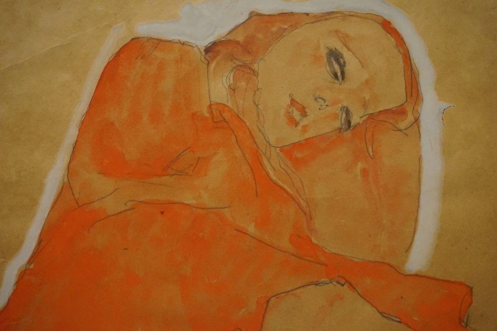 Vue de l'exposition Egon Schiele - Fondation Louis Vuitton (43)