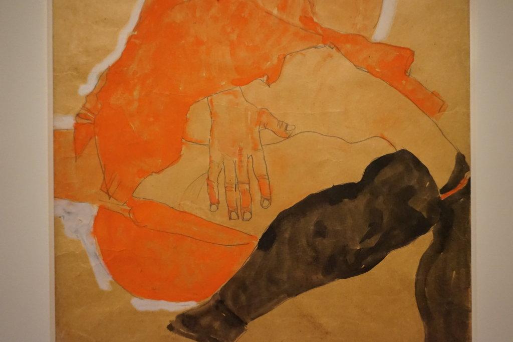 Vue de l'exposition Egon Schiele - Fondation Louis Vuitton (44)